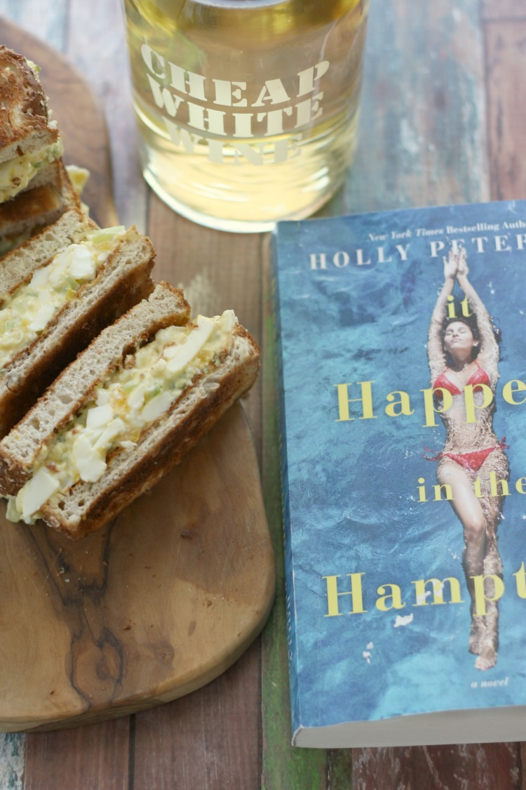 Egg Salad Sandwiches (and Cheap White Wine) | It Happens in the Hamptons