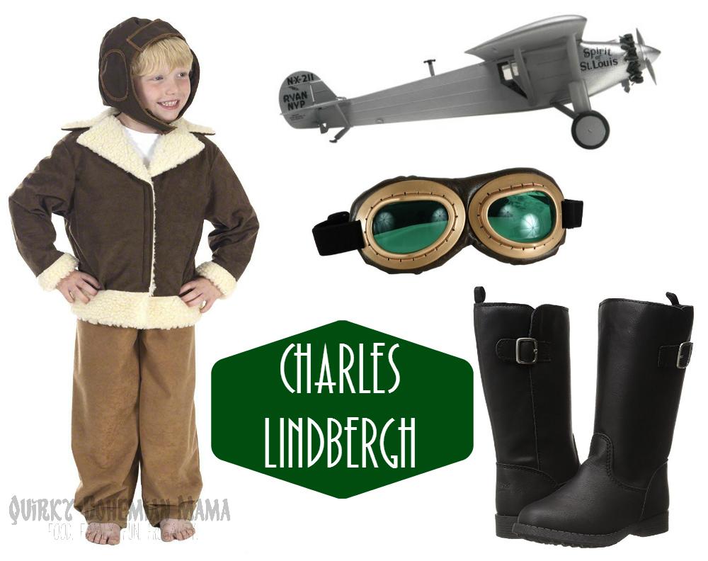 buys pilot aviator charles lindbergh roaring 20s halloween costume - St Louis Halloween Store