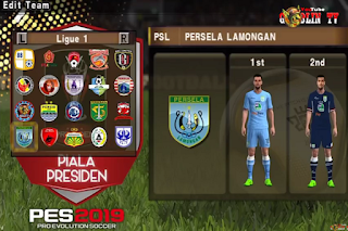 Download PES ARMY 2019 Update Promotions Team Gojek League 2019