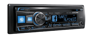 Stereo Mobil 4: Alpine CDE-154BT Advanced Bluetooth CD Receiver