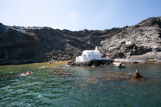 Crociera in catamarano a Santorini-Hot springs