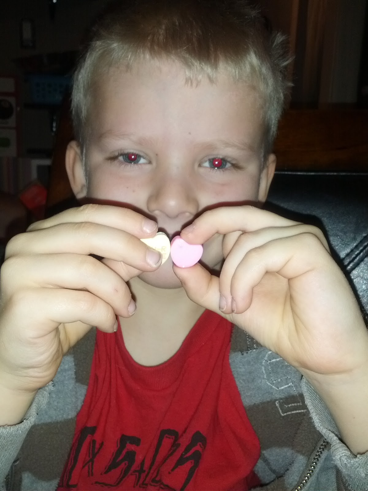 Annie S Adventures In Homeschooling Candy Heart Experiment