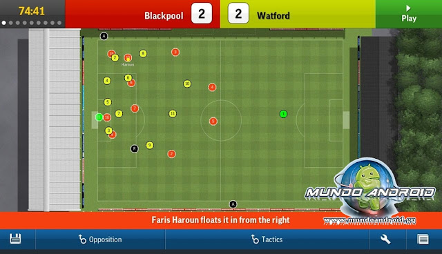 Jugabilidad de Football Manager Handheld 2015