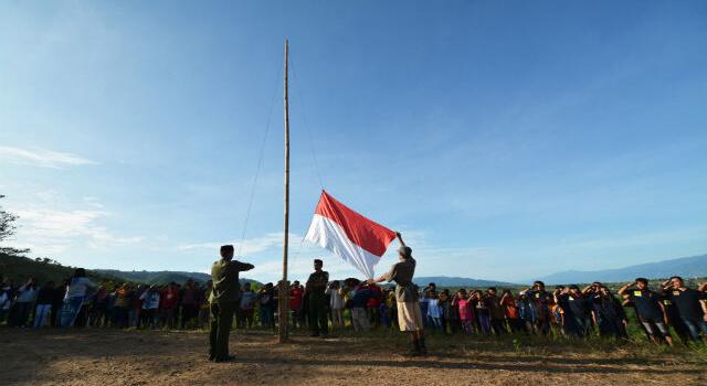 Lirik Lagu Indonesia Tetap Merdeka