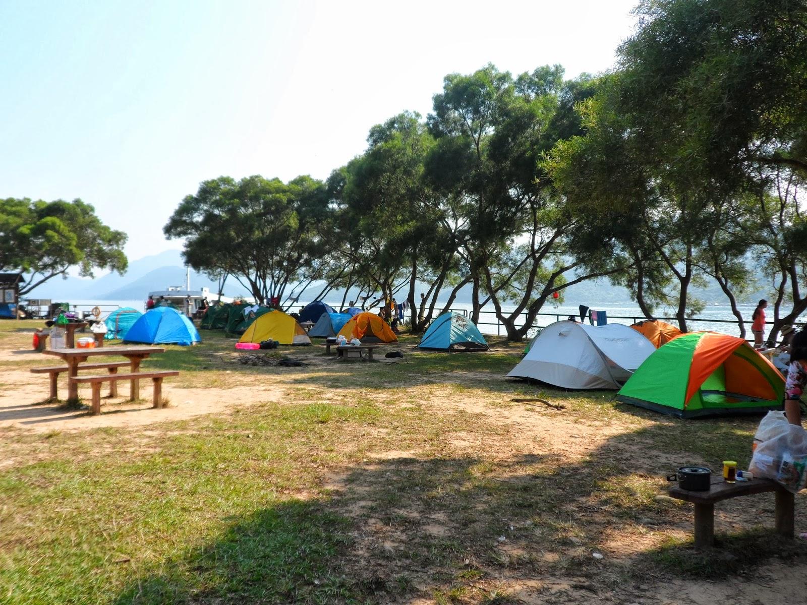 小魚網誌.分享點滴: 灣仔南營....露營&釣魚5-10-2013