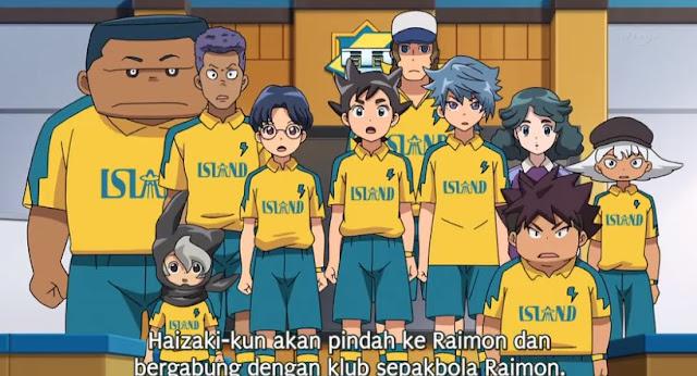 Inazuma Eleven Ares no Tenbin Episode 24 Subtitle Indonesia