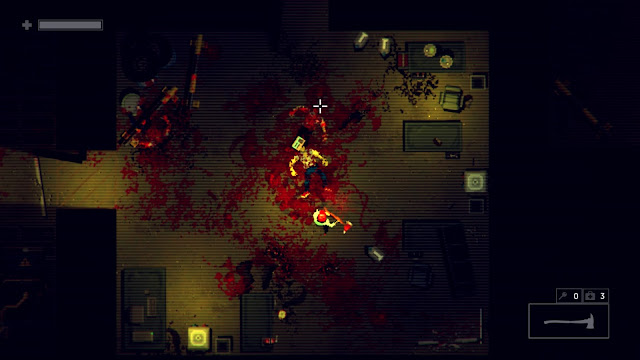 Garage Bad Trip - chop your enemies limbs and heads with your fire axe!