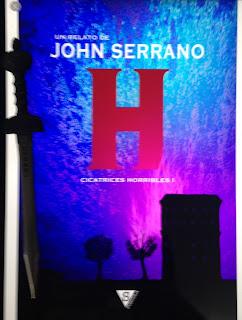 Portada del libro H, de John Serrano