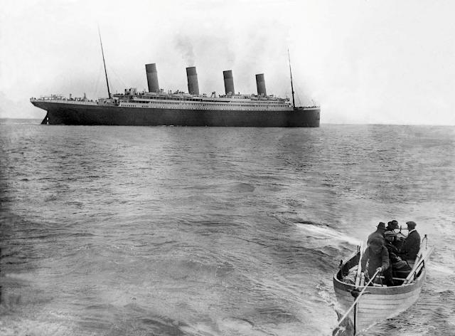 La última fotografía del Titanic