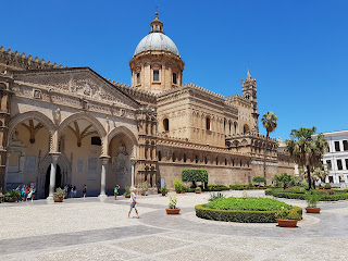 Cathedrale de Palerme, édifice du XIIe siecle