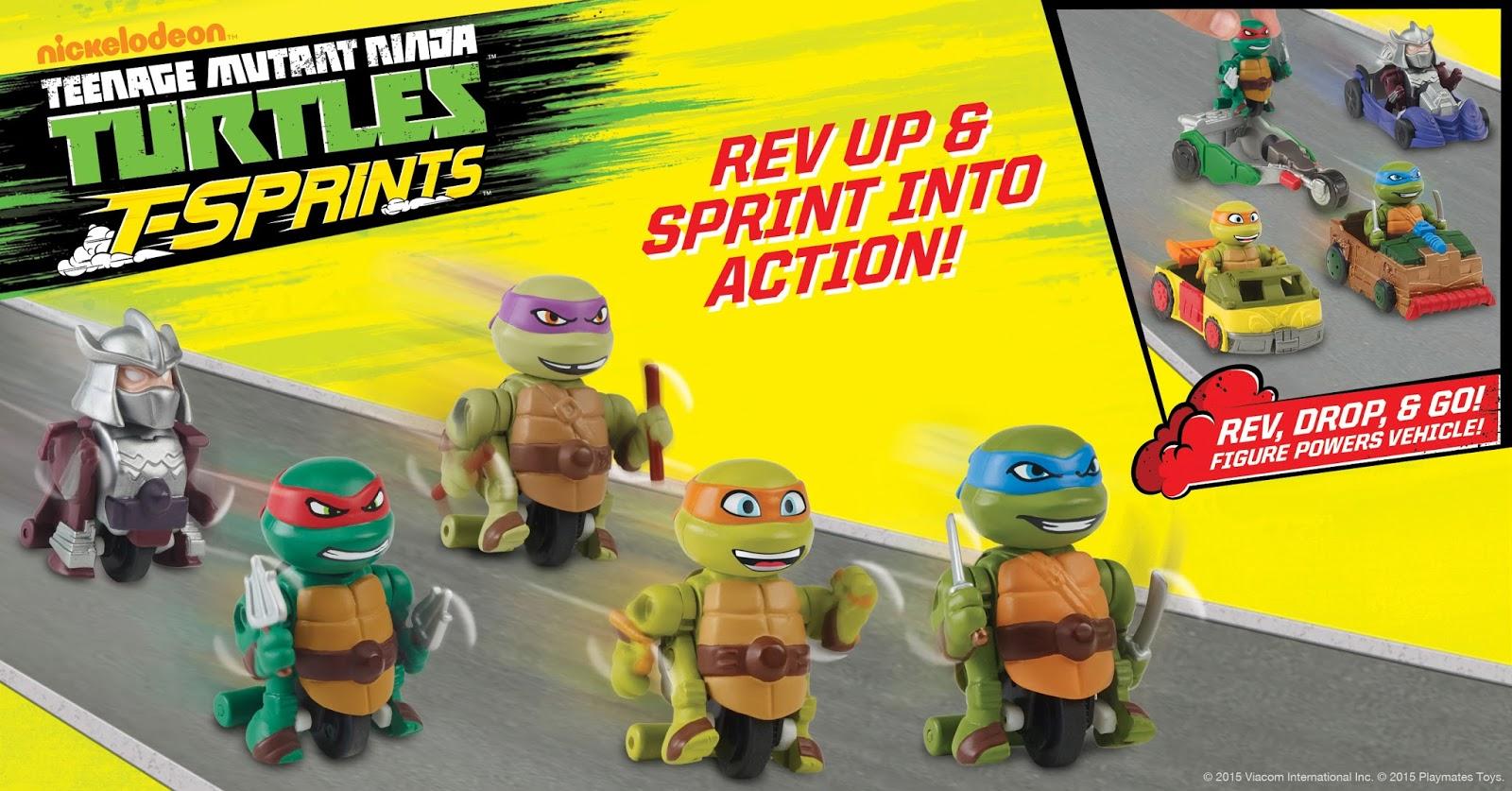 NickALive!: Playmates Toys Rev Teenage Mutant Ninja ...Nickelodeon Ninja Turtles Toys
