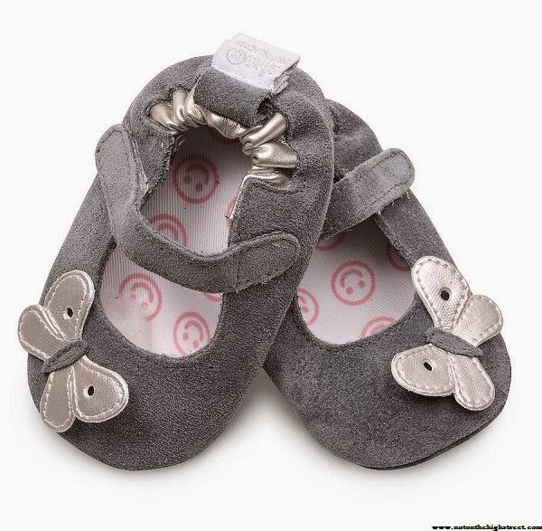 Chaussures gris bébé fille