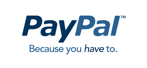 PayPal - because you have to