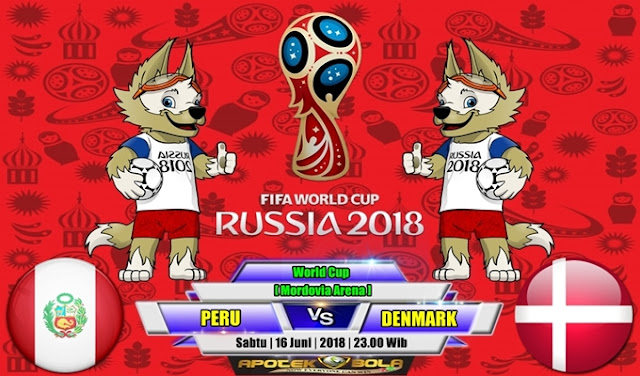Prediksi Peru vs Denmark 17 Juni 2018