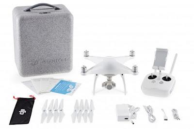 Spesifikasi DJI Phantom 4 Professional Quadcopter - GudangDrone