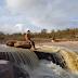 A benção das águas chegando em Ruy Barbosa: narração e vídeo Noilton Pereira.