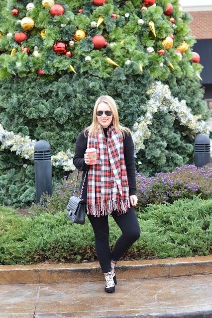 christmas-plaid-blanket-scarf