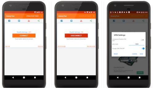 Aplikasi Android AnonyTun