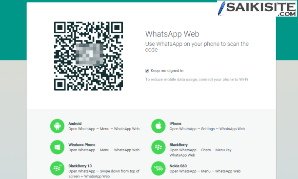 Use Whatsapp in PC or Laptop without any other Software. Follow these steps to use Whatsapp on PC/Laptop's Web Browser.