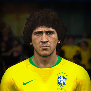 PES 2017 Faces Zico by Jefferson_SF