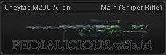 Cheytac M200 Alien