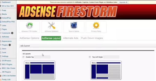 Adsense Firestorm Software Latest Free Download   Download all tools