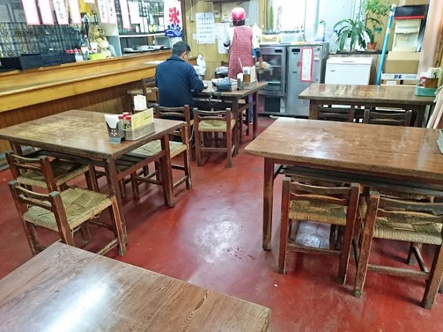お食事処 サンマ亭の店内の写真