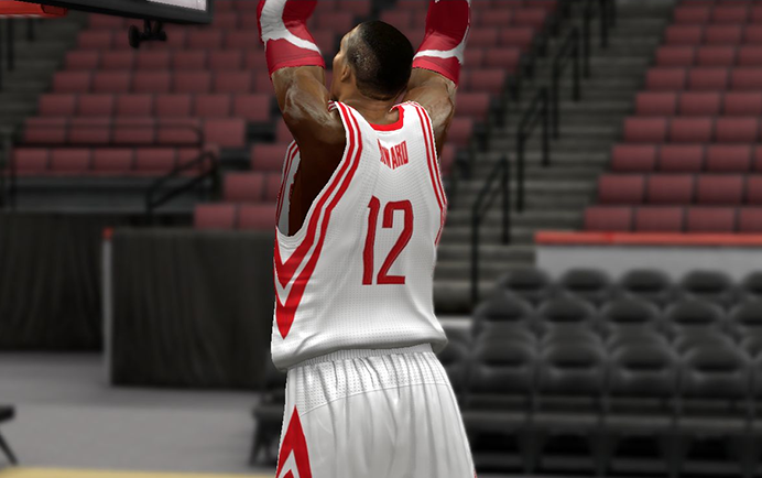 Dwight Howard mohawk buzz hairstyle NBA2K14