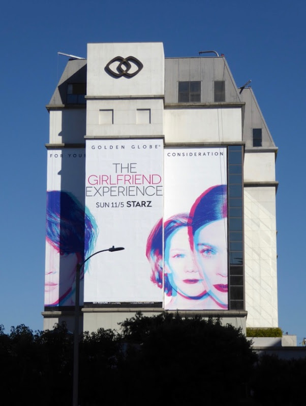 giant Girlfriend Experience season 2 billboard
