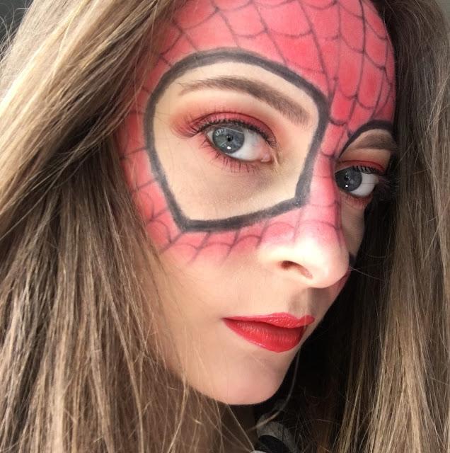 Spiderman-Homecoming-Makeup-Tutorial-2017