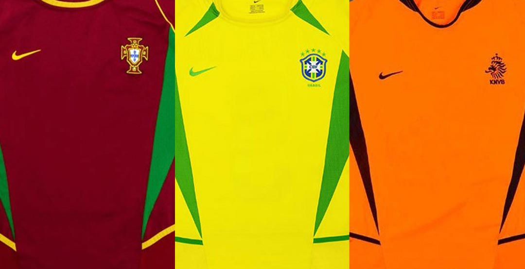 394fe9fac65 ... pictures from Classic Football Shirts of some of the Nike 2002 World  Cup kits. You can get some of them at Classic Football Shirts