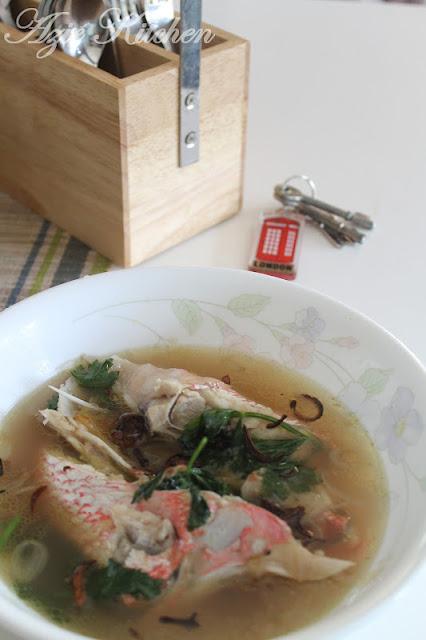 Sup Kepala Ikan MerahSup Kepala Ikan Merah