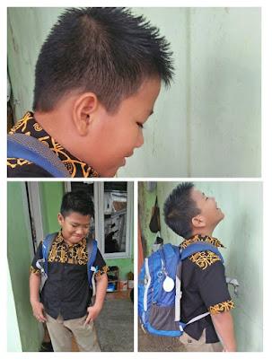 Gaya ke sekolah di Hari Batik Nasional