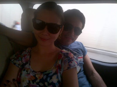 Maja Salvador: Maja Salvador and Gerald Anderson in Davao