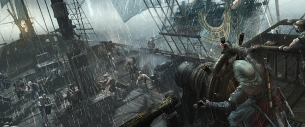Assassin's Creed 4: Black Flag Naval Fort Gameplay