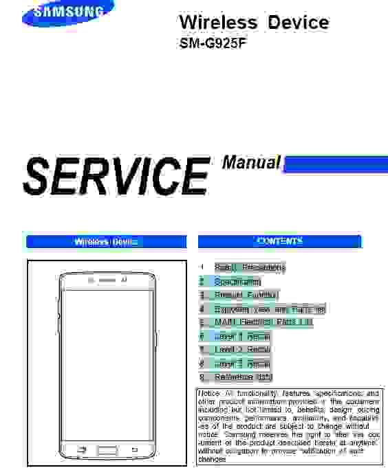 samsung galaxy s6 edge sm g925f service manual download service manual rh servicemanualguidepdf blogspot com