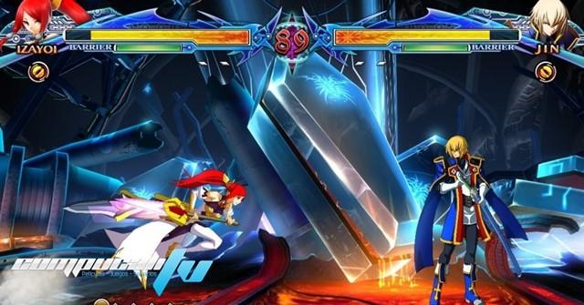 BlazBlue Chrono Phantasma PS3 Región USA