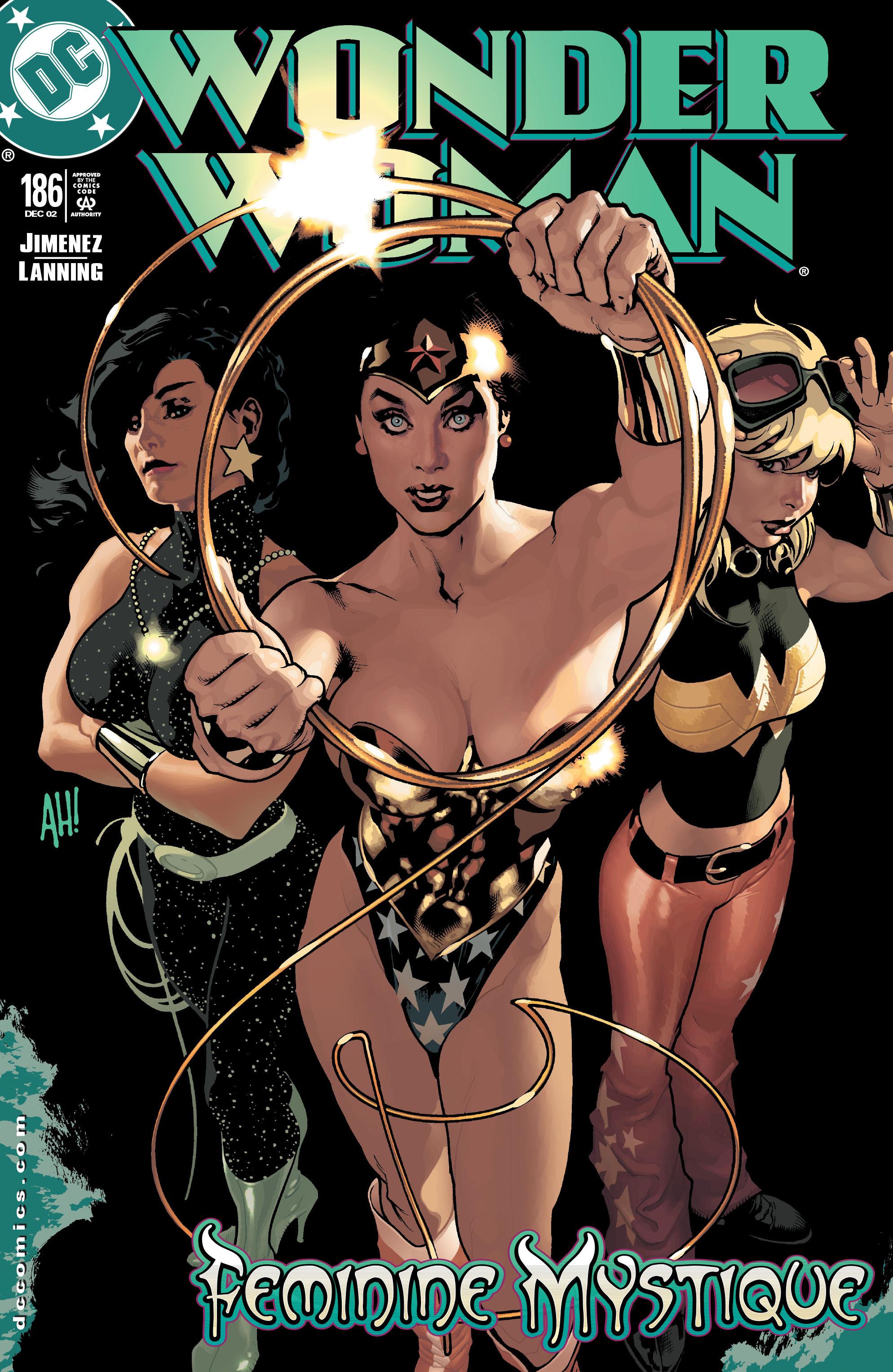 Read online Wonder Woman (1987) comic -  Issue #186 - 1