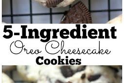 5-Ingredient Oreo Cheesecake Cookies Recipe
