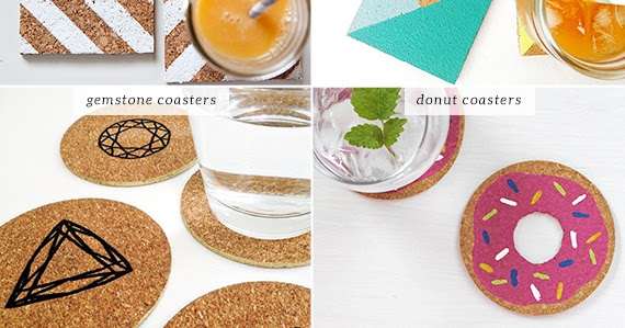 Diy Easy Cork Coasters My Paradissi