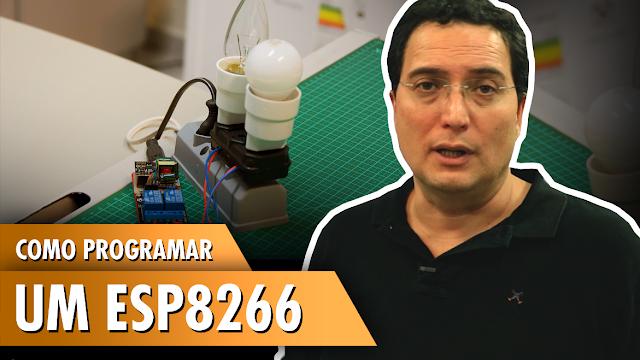 Automação com ESP8266 utilizando relés