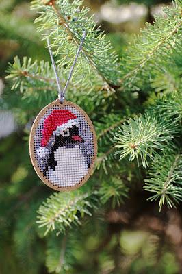 Christmas Penguin от Derwentwater Designs
