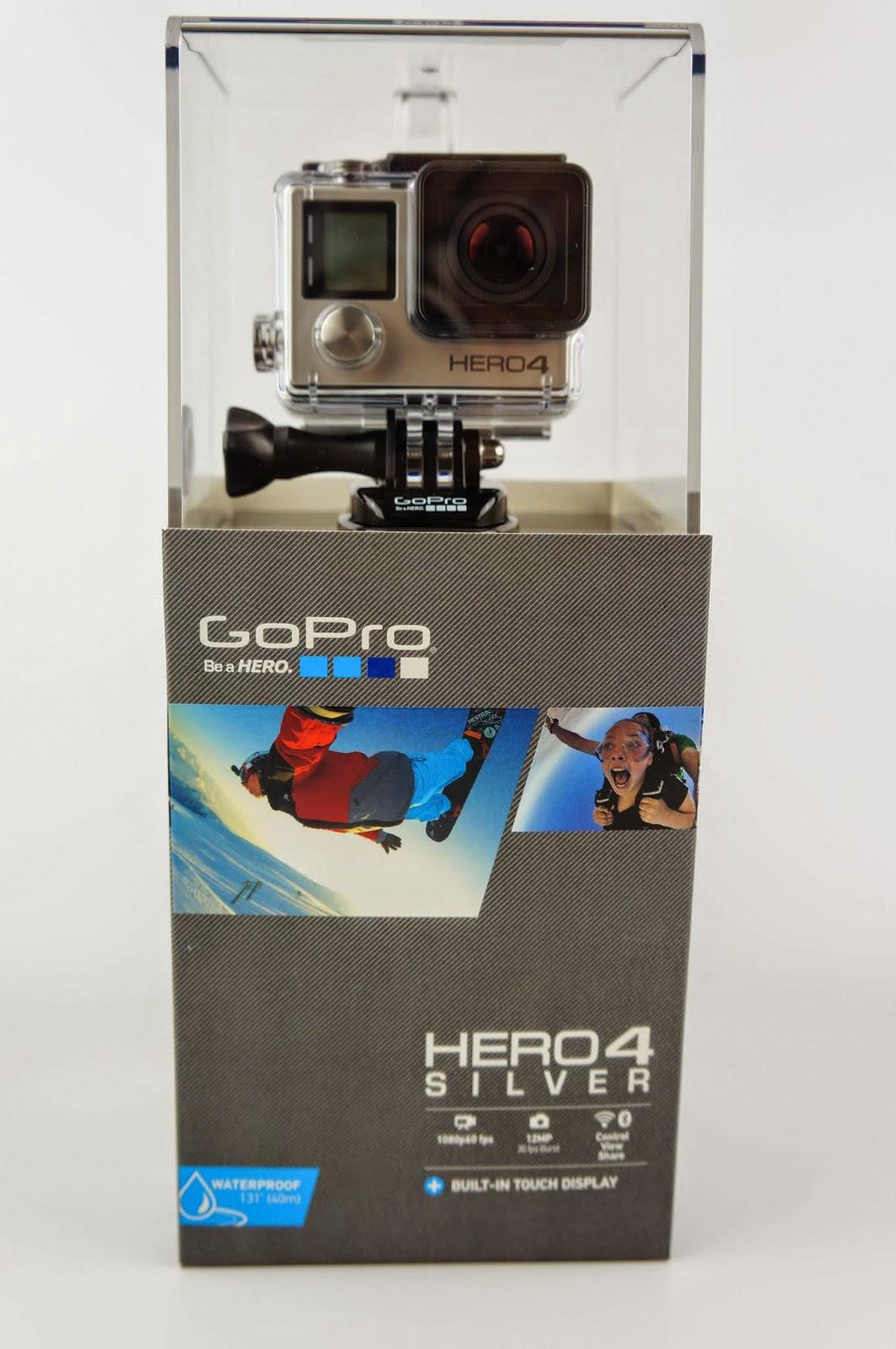 [開箱] GoPro HERO 4 銀色版 當個英雄吧! GoPro%2BHERO4-1
