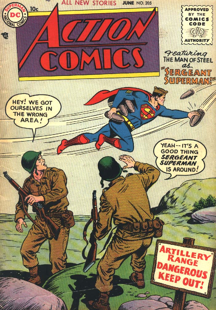 Action Comics (1938) 205 Page 1
