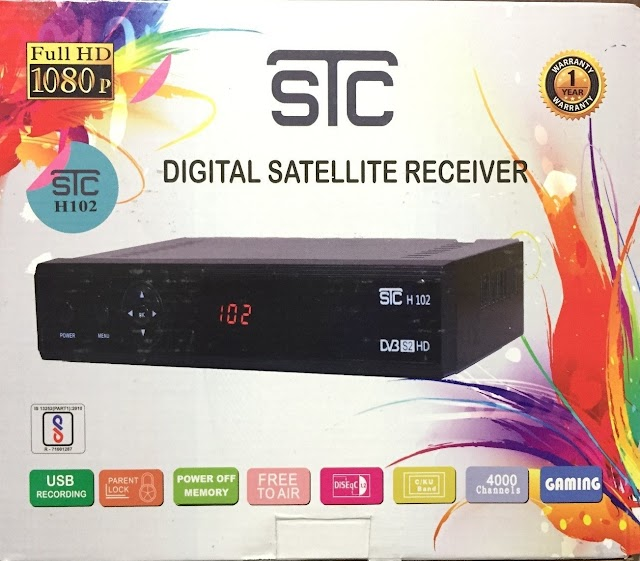 STC H-102 DVB-S2, HD FTA Set Top Box - Reviews, Price and Specifications