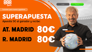 888sport superapuesta Atletico vs Real Madrid 9 febrero 2019