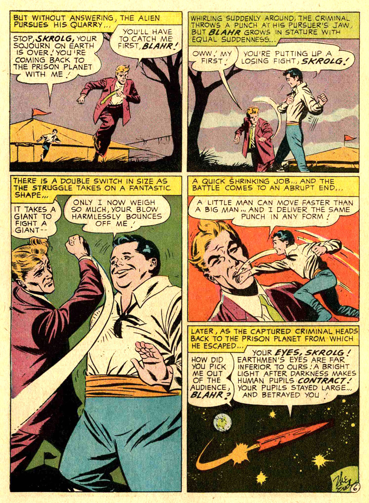 Strange Adventures (1950) issue 207 - Page 34