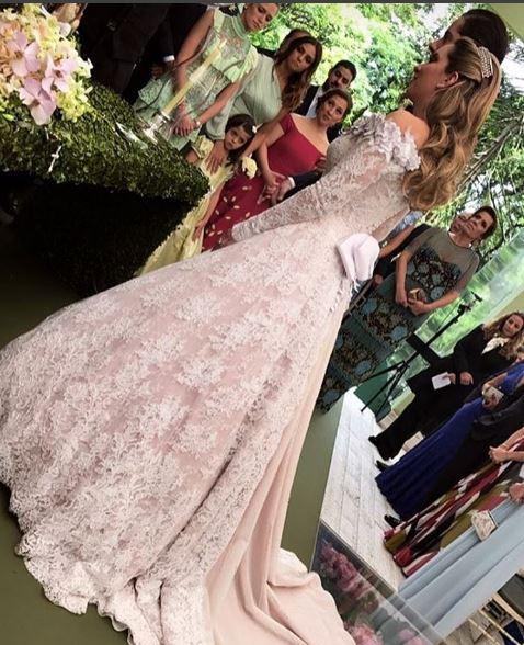 Lelê Saddi vestido noiva