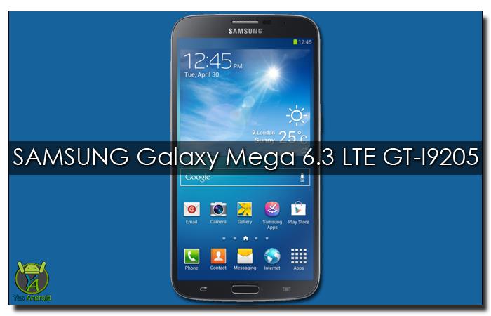 I9205XXSDQA1 | Samsung Galaxy Mega 6.3 GT-I9205