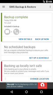 Come fare backup sms smartphone Android: TUTORIAL
